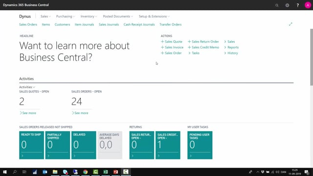 Finance Essentials Learn the basics and the structure of the Finance module in Microsoft Dynamics 365 Business Central  Course videos: Sune Lohse Christina Fausbøll Jesper Nielsen Total playing time: 1h 27m 41s English  English  Examination: Bo Hansen Hansen English 28 questions Score to pass: 85 %
